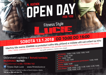 4. ročník OPEN DAY for you